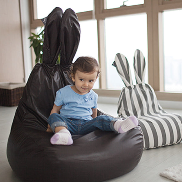 Cover for Rabito Bean Bag (Chocolate Brown) - The Rabito Shop