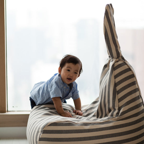 Rabito Bean Bag Limited Edition (Vintage Grey Stripes)