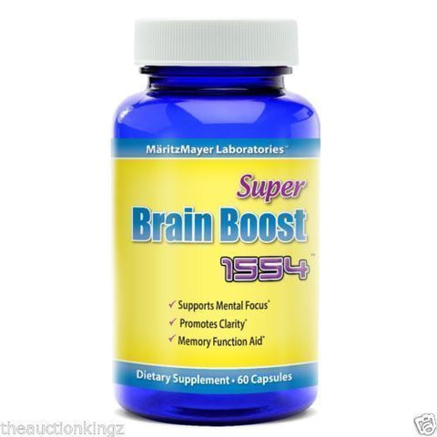 Brain Boost 1554 Pills Supplement Nootropic Ginkgo Biloba Supports Limitless Focus Memory
