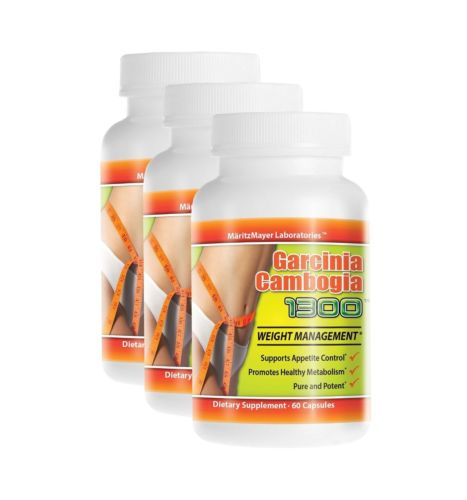 Maritz Mayer Laboratories - (200) Garcinia Cambogia 1300 200-bottle 60 capsules each