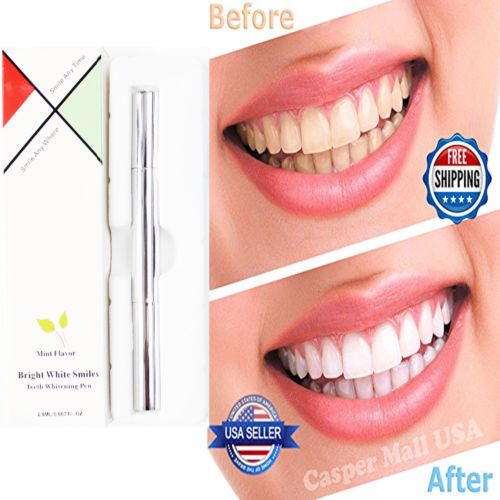 100 PCS Ultimate Strength 44% Peroxide Teeth Whiten Pen Tooth Bleach Gel