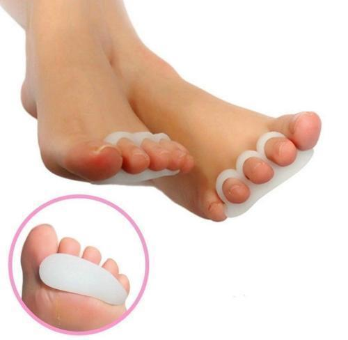 8 pcs Bunion Treatment Hammer Toe Straightener Corrector Spacer Separator Splint