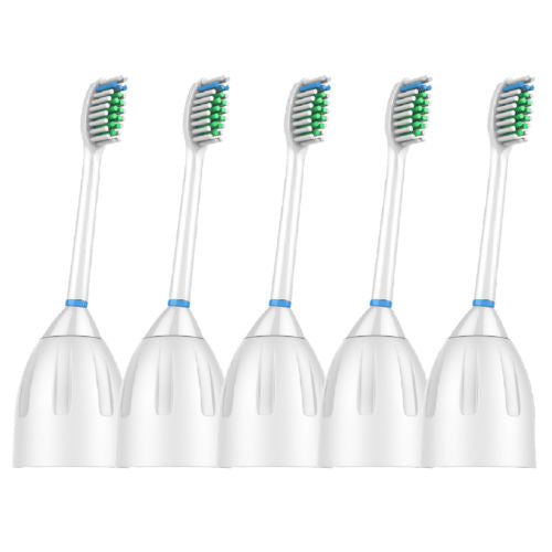 5 Pack Replacement Brush Heads for Philips Sonicare E series Toothbrush HX7002