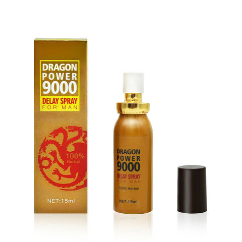DRAGON POWER 9000 , Strong Power 100% Herbal Long Time Sex Delay Spray For Men