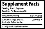 Super African Mango 1200 60 Capsules pack of 10 bottles