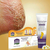 Crack Heel Repair Cream Anti Crack Whitening Cream Foot Peeling Cracked