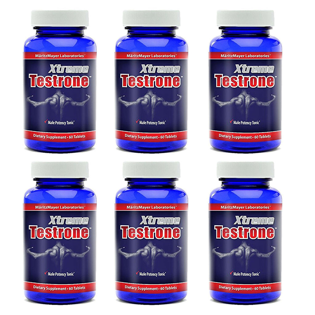 6X Xtreme Testrone Male Enhancement Testosterone Horny Goat Weed