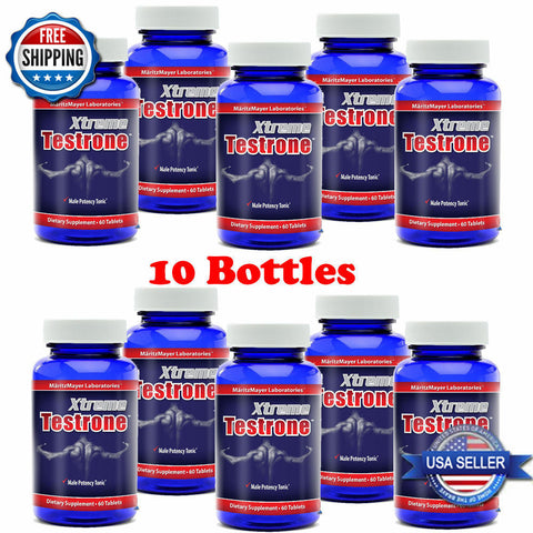10 X XTREME TESTRONE ENHANCER PILLS FOR MEN 600 TABS