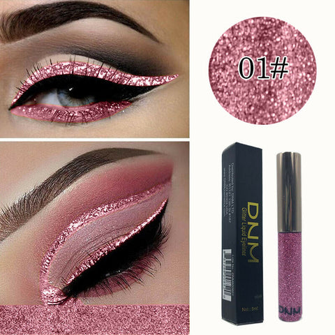 DNM16 color bright shining pearlescent color sequins strobe diamond eyeliner USA