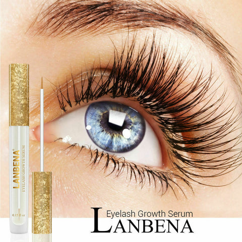 Eyelash Growth Eye Serum 7 Day Eyelash Enhancer Longer Fuller Thicker LANBENA