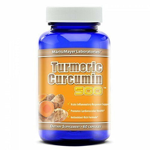 Turmeric Curcumin Highest Potency 95% 60 Capsules by MaritzMayer Laboratories