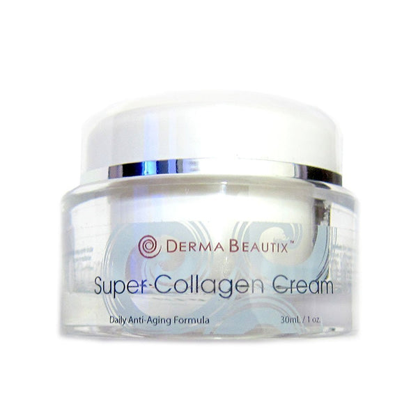 Super Collagen Cream for Fighting Signs of Aging, Fine Lines and Wrinkles, Paraben Free 35ml / 1oz