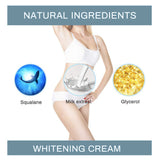 Bellezon Armpit Whitening Cream Legs Knees Private Parts Whitening Formula Armpit Whitener Intimate Bleach Body Cream for Summer