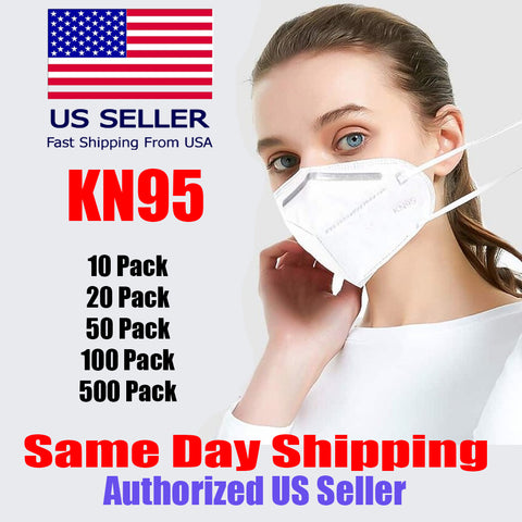KN95 95% Filtration, Respiratory Protection, 3D dimensional structure design, Comfortable for Blocking PM2.5, Haze, Pollen, Exhaust Gas