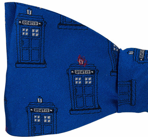 Tardis (Police Booth) Bow Tie
