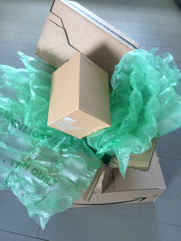 Recycled boxes and packaging