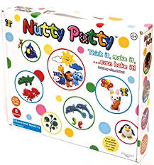 Nutty putty in box