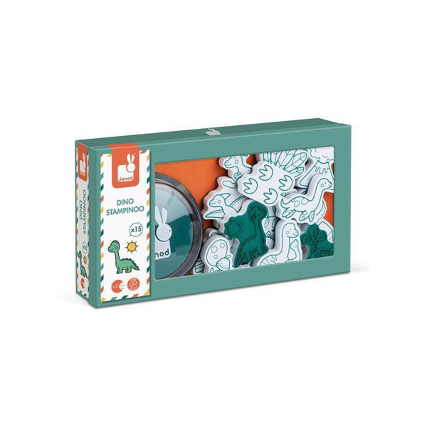 Dinosaur Stamping Set in box