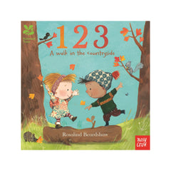 123 Walk in the Countryside Board Book