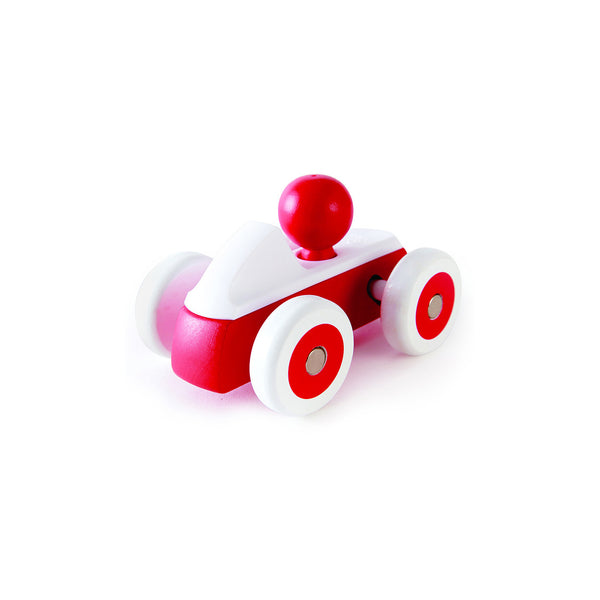 Rolling Roadster Red Wooden Car - Toys will be Toys