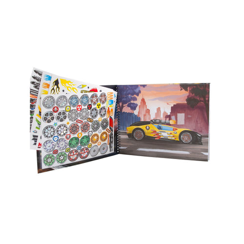 Create Monster Cars Book - FREE DELIVERY - Toys will be Toys