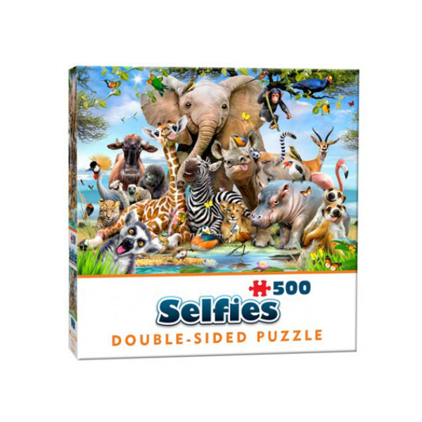 Selfie puzzle in box