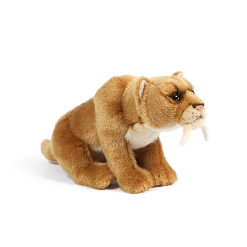 Plush Sabre Toothed Tiger - Toys will be Toys