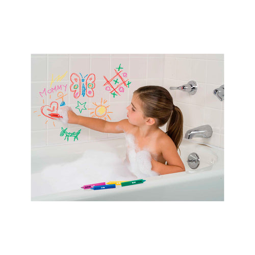 Girl in Bath Using Draw In The Tub