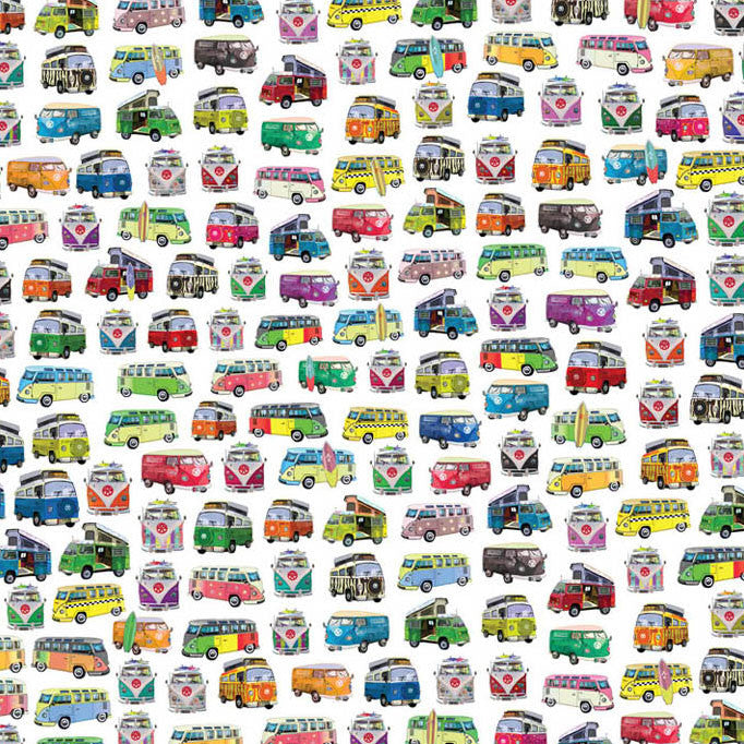 Gift Wrap – Camper Van - Toys will be Toys