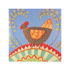 Greetings Card Chook - FREE DELIVERY - Toys will be Toys