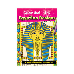 Ancient Egyptian Design Colouring Book
