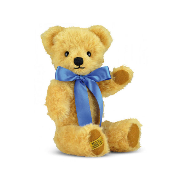Merrythought London Curly Gold Teddy Bear with Growl - Toys will be Toys