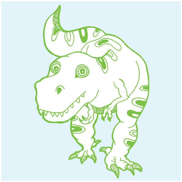 Greetings Card Dinosaur T-Rex - FREE DELIVERY - Toys will be Toys