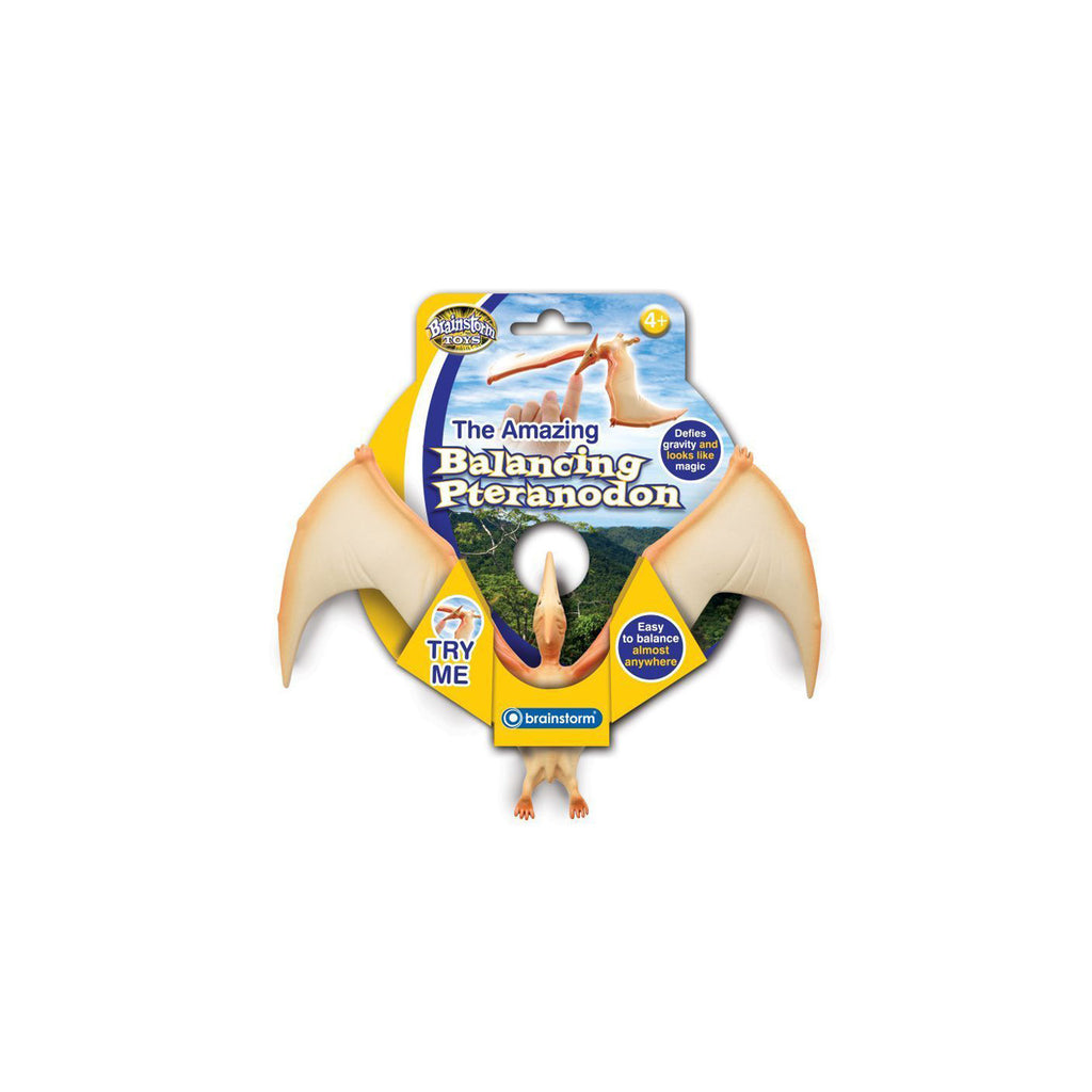 The Amazing Balancing Pteranodon - Toys will be Toys