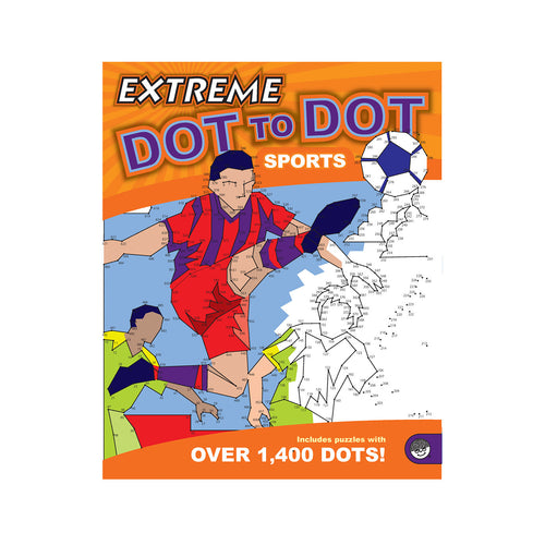 Dot to Dot Book - Extreme Sports - FREE DELIVERY - Toys will be Toys