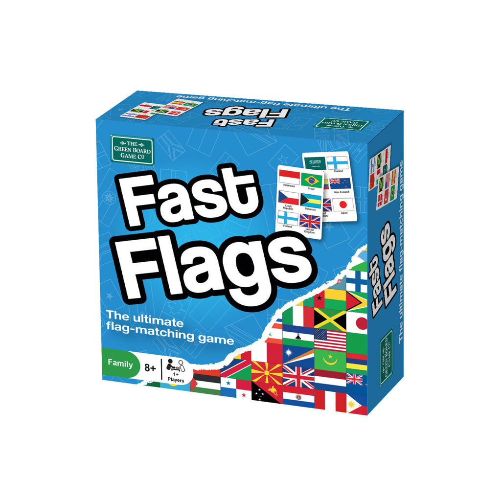 Fast Flags Game - Toys will be Toys