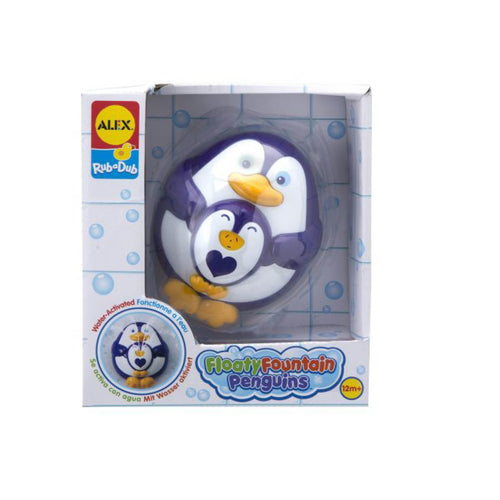 Bath Toy - Floating Fountain Penguin