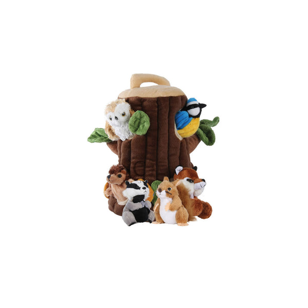 Tree House Finger Puppets - Toys will be Toys