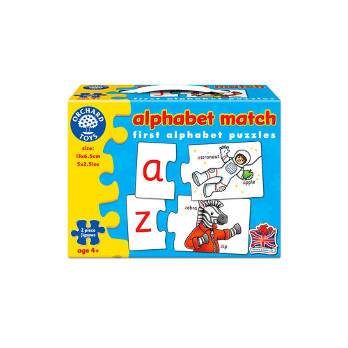 Orchard Toys Alphabet Jigsaw - Toys will be Toys