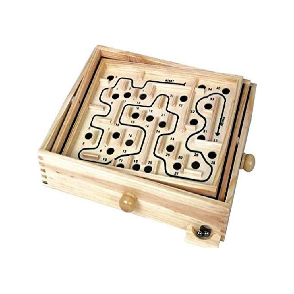 Labyrinth Wooden Game