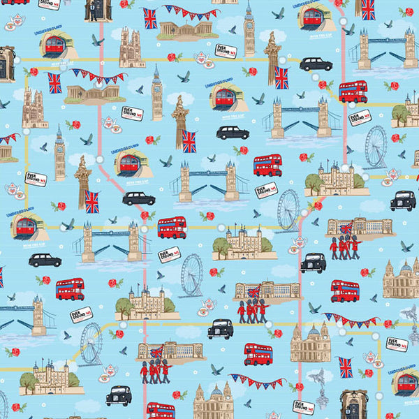 Gift Wrap – London - Toys will be Toys