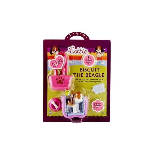 Lottie Biscuit the Beagle - Toys will be Toys