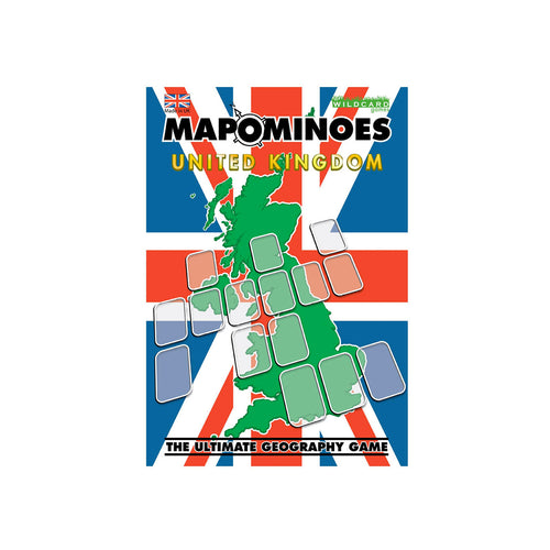 Mapominoes  UK Card Game - Toys will be Toys