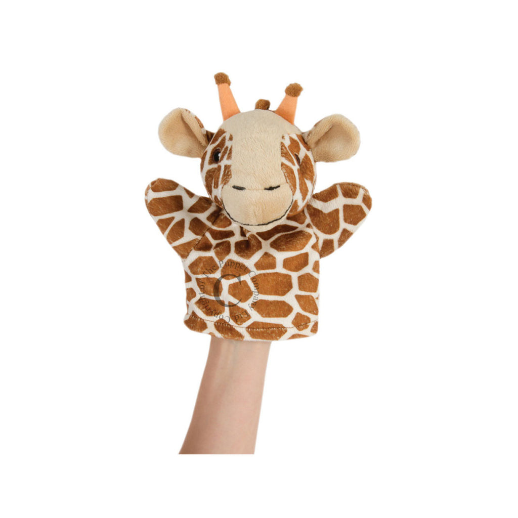 Giraffe Hand Puppet - Toys will be Toys