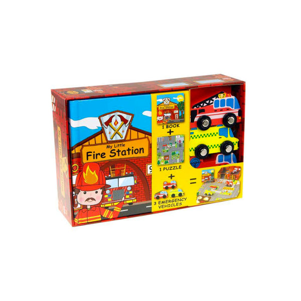 My Little Fire Station Puzzle and Game - Toys will be Toys