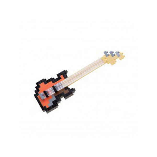 Nanoblock Electric Bass Guitar - FREE DELIVERY - Toys will be Toys
