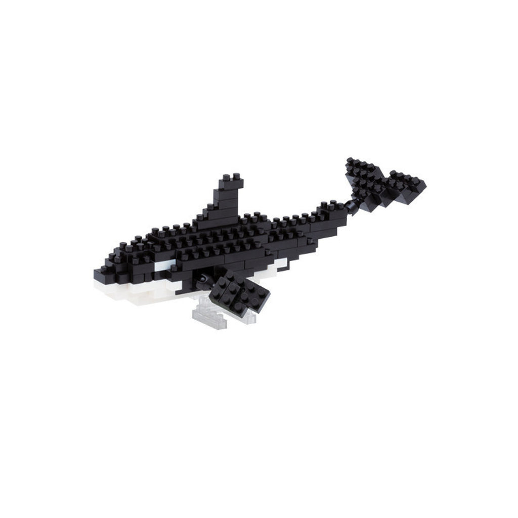 Nanoblock Orca - FREE DELIVERY - Toys will be Toys