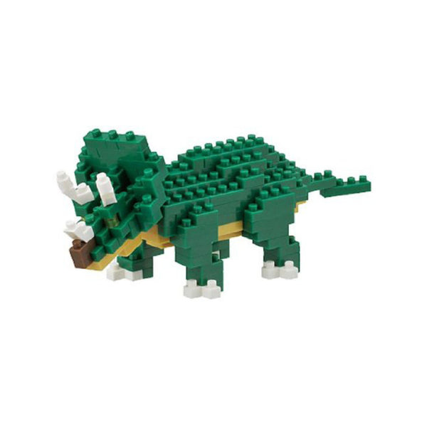 Nanoblock Triceratops - FREE DELIVERY - Toys will be Toys