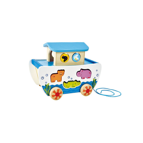 Noah's Ark Toy and Wooden Shape Sorter - Toys will be Toys