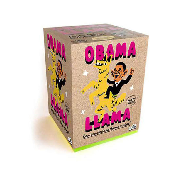 Obama Llama Charades Game - Toys will be Toys